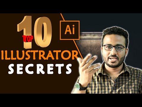 Adobe Illustrator Top 10 Secrets   Tips & Tricks   Bangla Tutorial