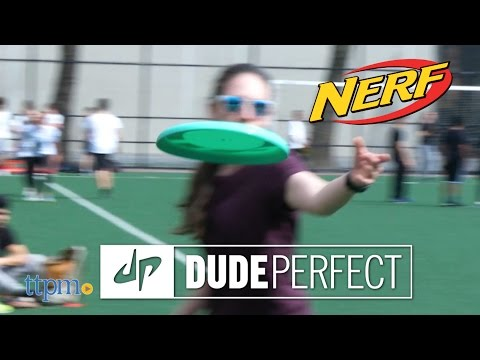 Nerf Dude Perfect Flying Disc from Hasbro
