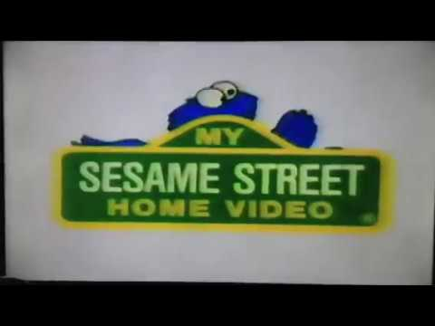 My Sesame Street Home Video Learning About Letters Part 1