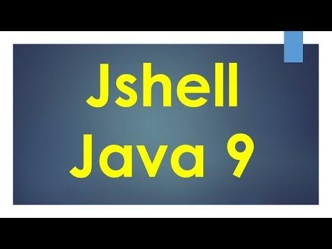 JShell   REPL   Part 1