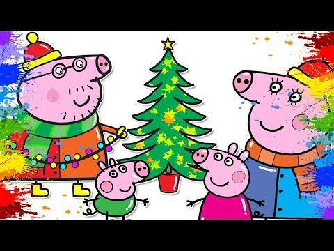 malvorlagen winter weihnachten lernen - kinder zeichnen und ausmalen