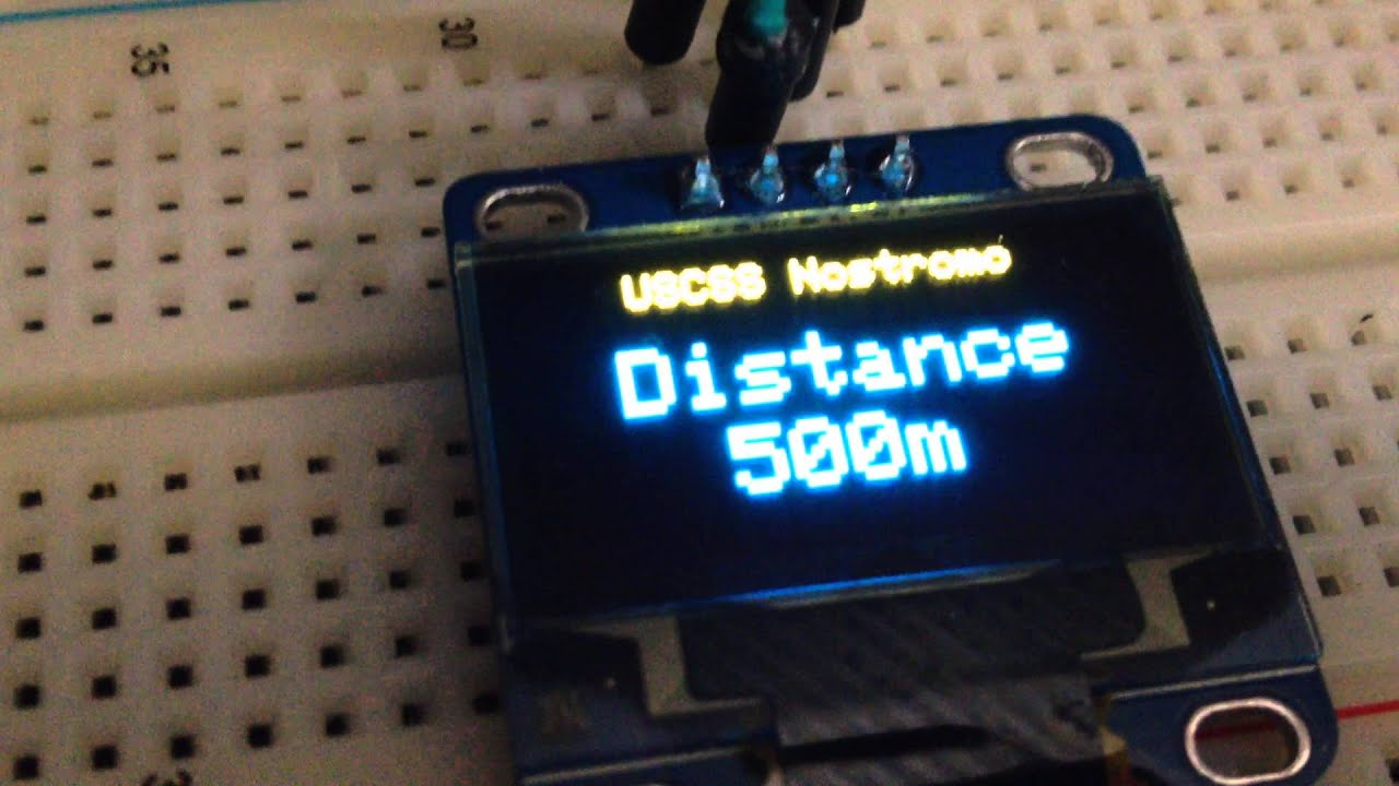Quot oled display with arduino atmega youtube