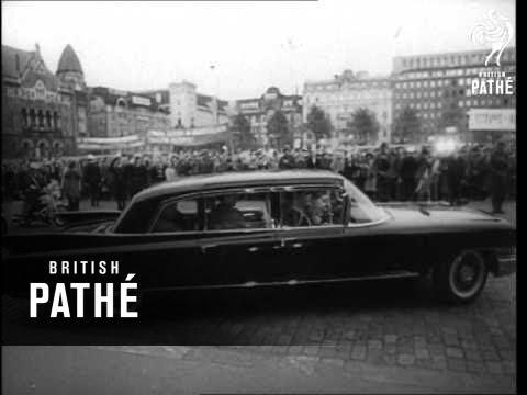 Pres. Brezhnev Visits Finland AKA Brezhnev Visits Finland (1961)
