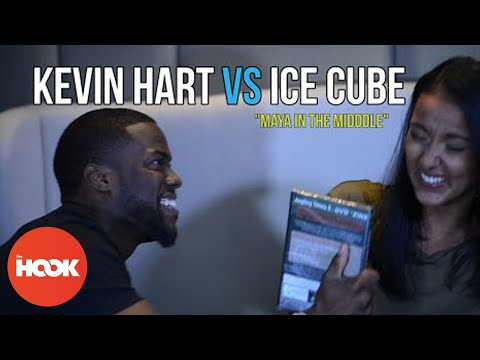 Kevin Hart & Ice Cube Interrogation Game | Maya In The Middle