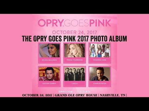 The Opry Goes Pink 2017 Photo Blog