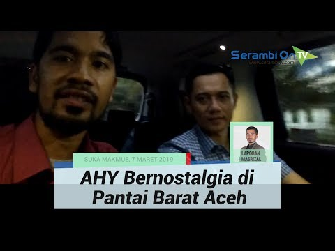 AHY Kembali Saweu Aceh