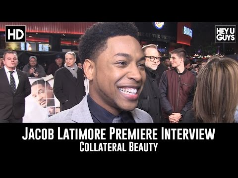 Jacob Latimore Premiere Interview - Collateral Beauty