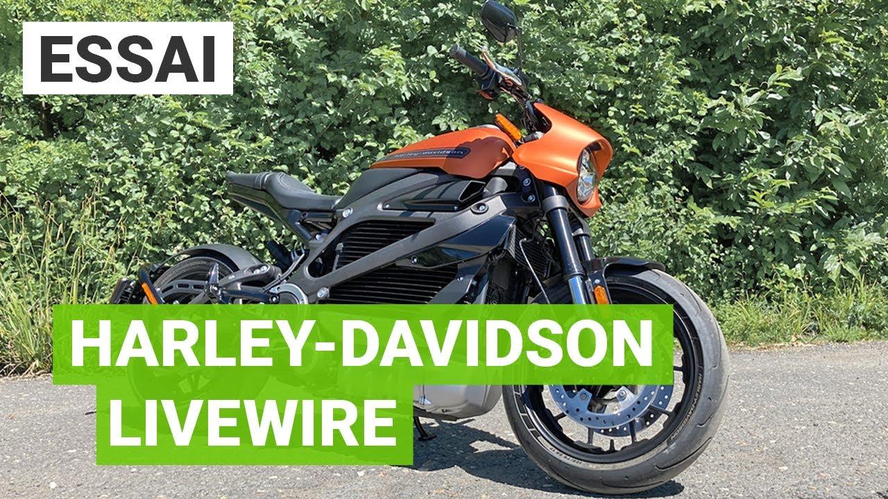 Essai Harley-Davidson LiveWire : à fond les watts en moto électrique !