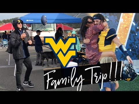 WEST VIRGINIA FOOTBALL TRIP WITH OUR WHOLE FAMILY!