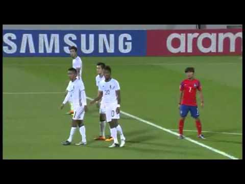 Asian u23 Championship FINAL - South Korea vs Japan 30/01/2016 Full Match