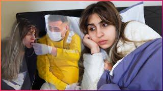 إكتئاب ننوش بسبب إصابتها في وباء الكورونا😭