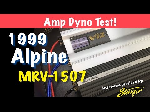V12 Tested on the Dyno - 1999 Alpine MRV-1507