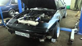 toyota supra a70 with 2jz gte first start up