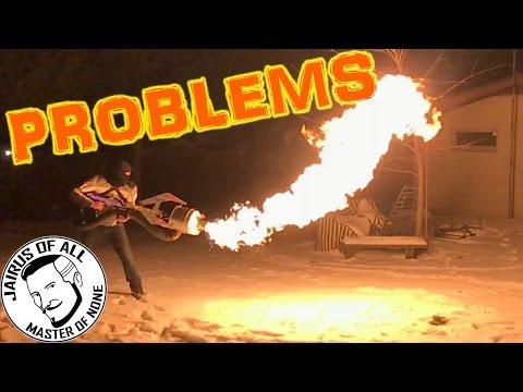 FIRE TORNADO GUN PROBLEMS EDITION