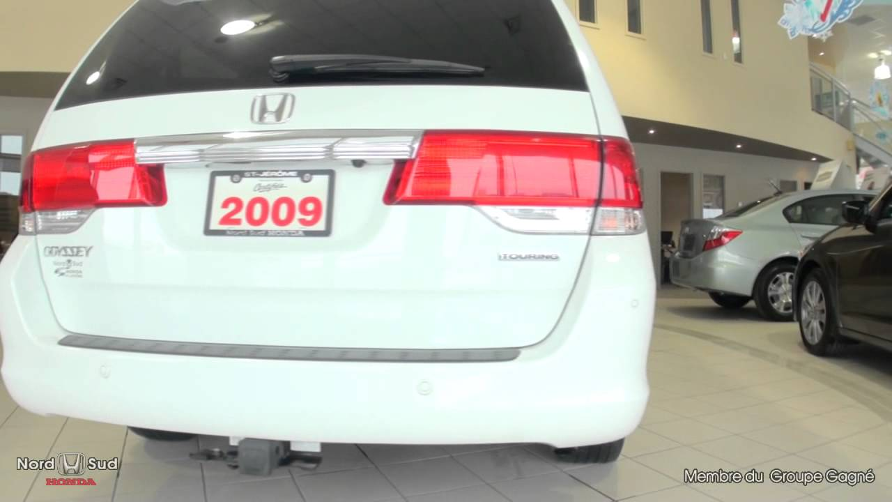 Honda Nord Sud >> Honda Odyssey Touring 2009 Youtube