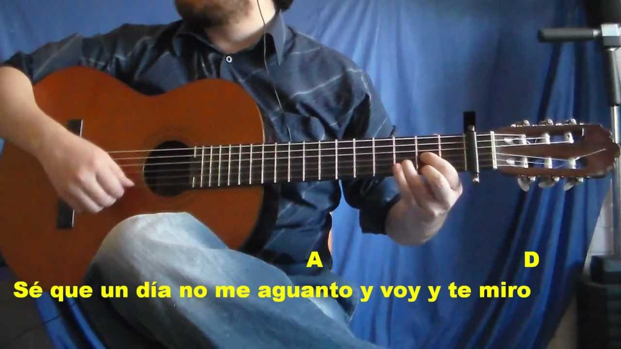 No Me Doy Por Vencido Guitarra Tutorial Hd Luis Fonsi Youtube