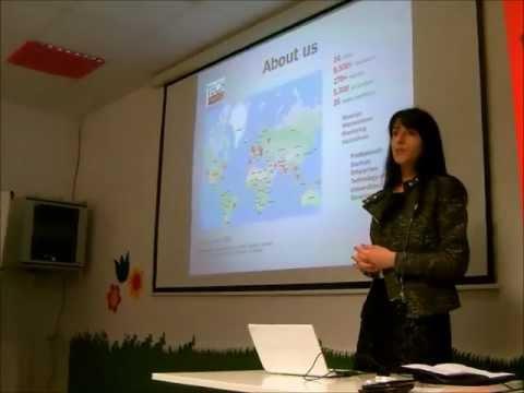 Mirjana Glavonjic opening PR Masterclass at TechMeetups Berlin