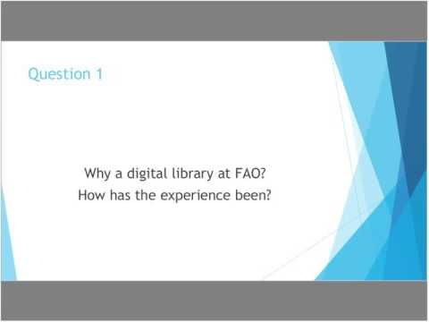 Digital Library - 1st Librainer Webinar