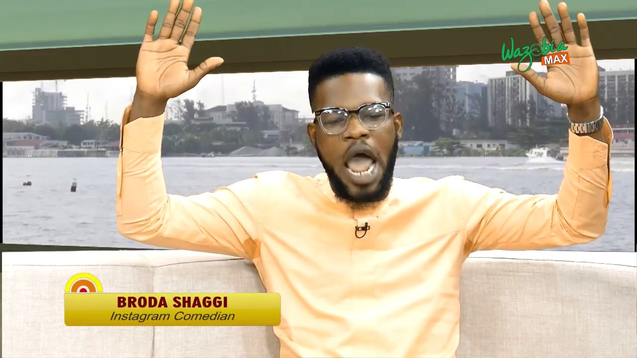 Gudu Morning Naija Show - Broda Shaggi On His Journey To Fame