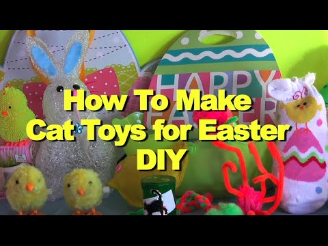 Diy Cat Toys Pinterest Diy How to Make Cat Toys For