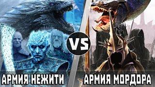 Армия Мордора vs Армия Короля Ночи