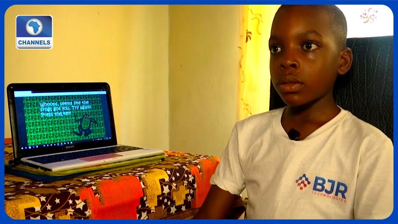 'Why I Like To Build Games', Says 9 Year Old Nigerian Developer