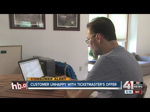 Customer unhappy with Ticketmaster's offer Mp3
