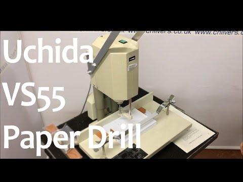 Uchida VS55 Paper Drill