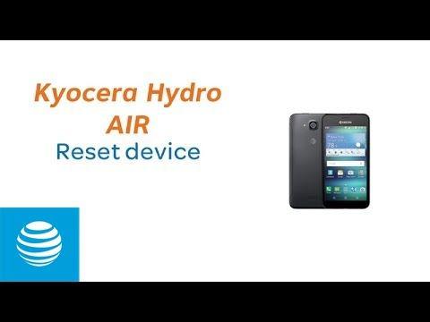 Reset Your Kyocera Hydro AIR | AT&T