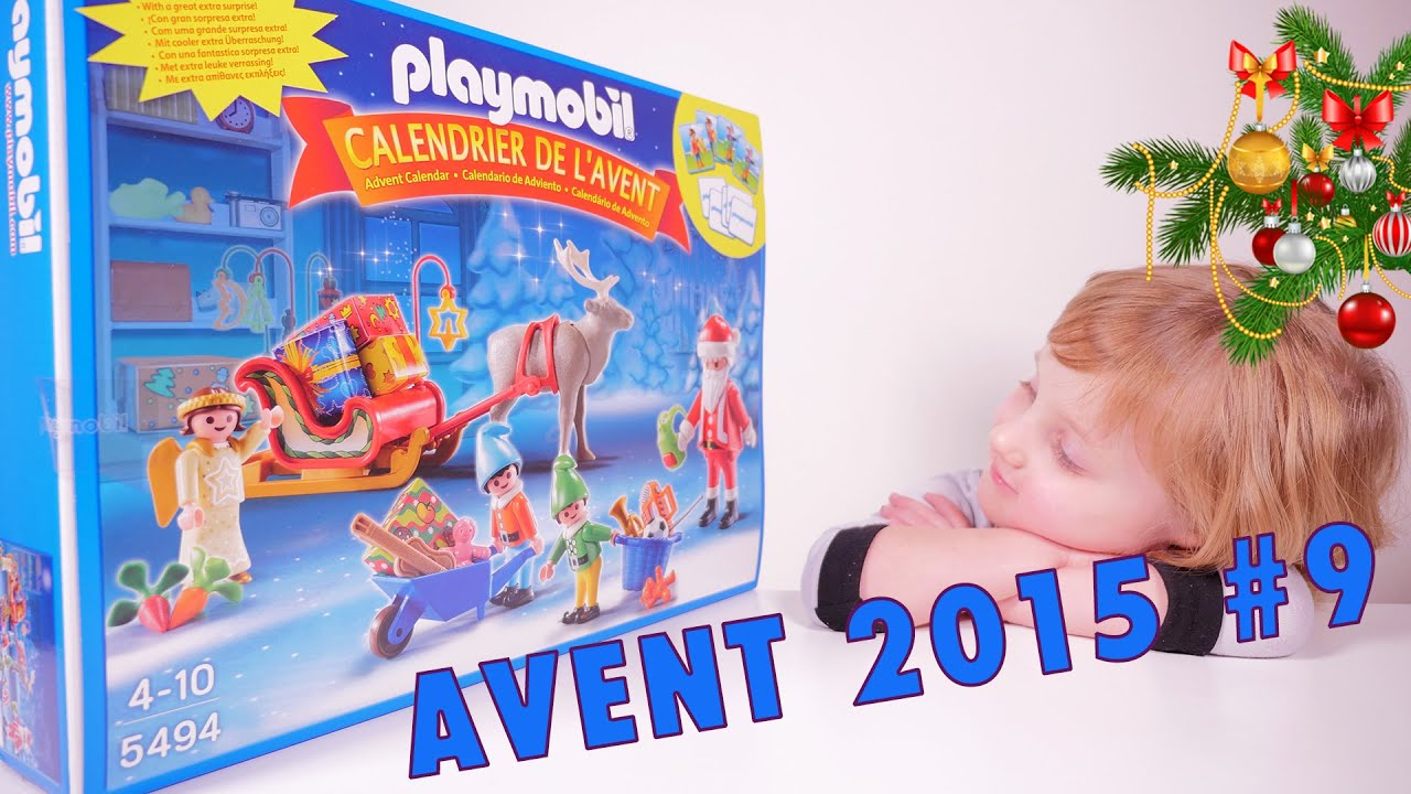 avent calendrier 9 de l 39 avent playmobil set 5494 studio bubble tea unboxing advent calendar. Black Bedroom Furniture Sets. Home Design Ideas