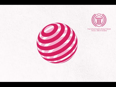 simple sphere logo design tutorial in adobe illustrator cs6 | how to make global circle logo
