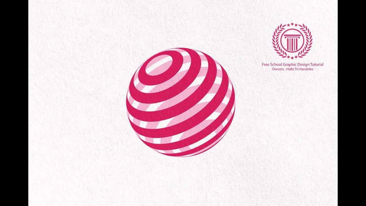 simple sphere logo design tutorial in adobe illustrator cs6 how to make global circle logo