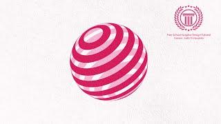 simple sphere logo design tutorial in adobe illustrator cs6 | how to make global circle logo