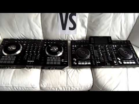 Numark NS7III vs Pioneer XDJ-RX vs Numark NS7II - YouTube