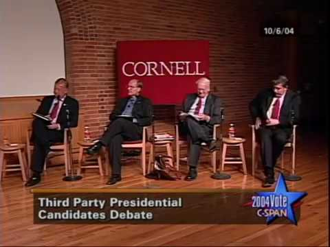 Third Party Presidential Candidates Debate 2004