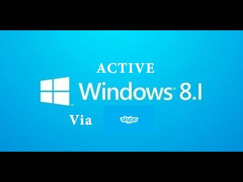 Active Windows 7/8 Via Skype Call