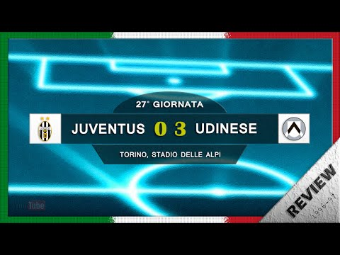 Serie A 1996-97, Juve - Udinese (Review)