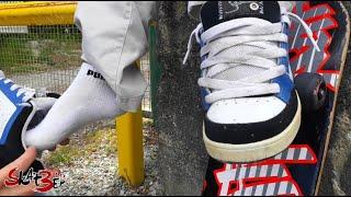 Skat3er & David *** | The beautiful skaterboy... Shoes and socks removed !