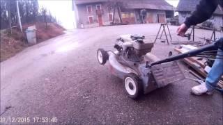 demarage et demontage d'un moteur de tondeuse (GOPRO)