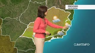 Previsão Sudeste – Pancadas de chuva em parte da Região
