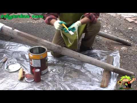 Impregnating wood