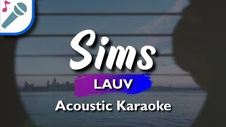 🎤 SIMS (KARAOKE VERSION) LAUV INSTRUMENTAL & LYRICS
