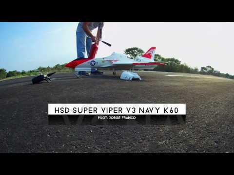 HSD Super Viper v3 Navy Turbine k60