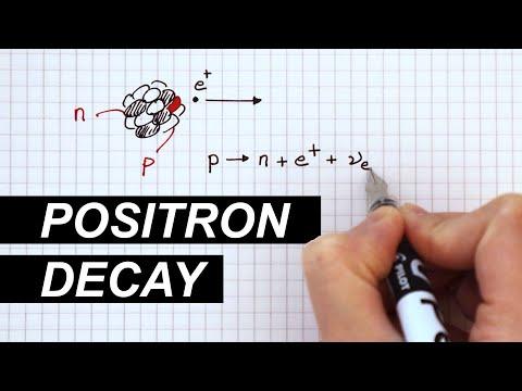 Positron Decay - A Level Physics