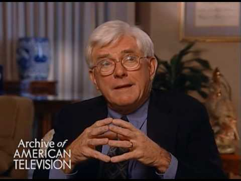 Phil Donahue on television and the decay of culture -EMMYTVLEGENDS.ORG