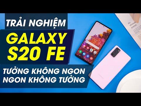 Trên tay Galaxy S20 FE đầu tiên: Màn 120Hz, Exynos 990 giá 14.xx