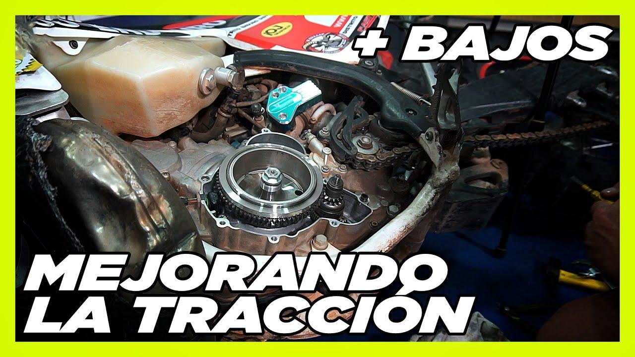 + BAJOS + TRACCIÓN   Accesorios   Distrito Enduro