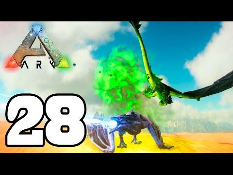 ARK: CAZANDO DRAGONES Y REFORMAS!! #28 Temporada 4   ARK: Scorched Earth