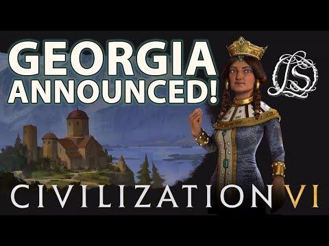 Georgia Announced for Civ 6 - Gaming News!