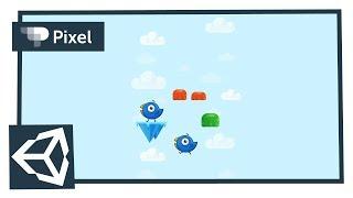 создаем игру аналог Doodle jump в Unity  уроки для новичков